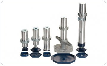 Nivtec, legs for stage - Height - 140cm